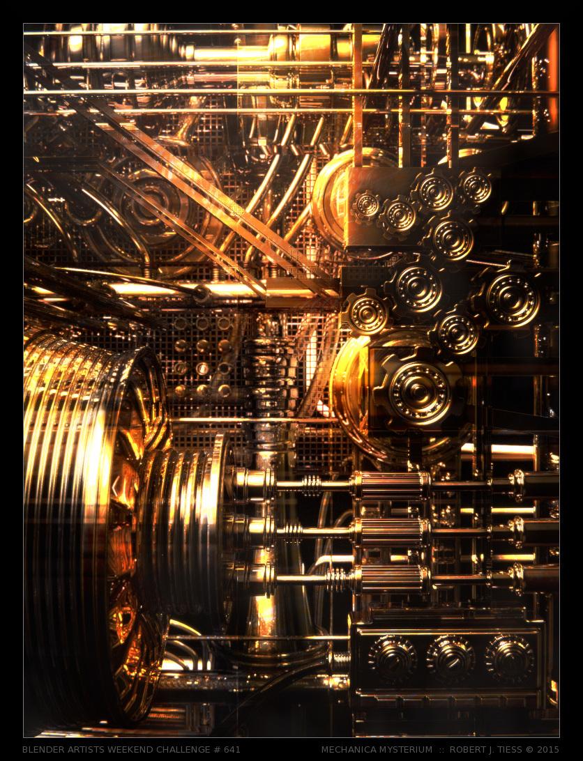 Mechanica Mysterium - By Robert J. Tiess