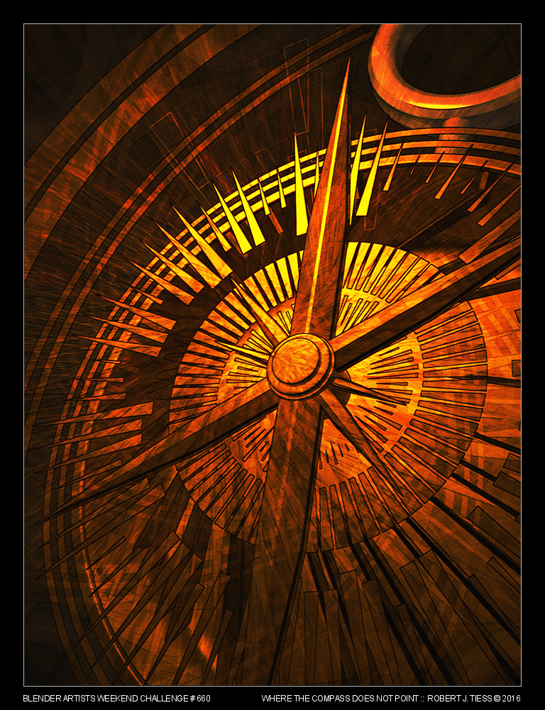 Where the Compass Does Not Point - By Robert J. Tiess