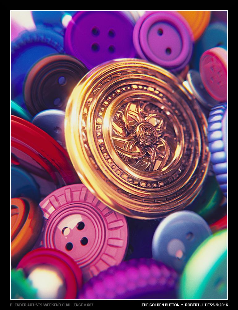 The Golden Button - By Robert J. Tiess