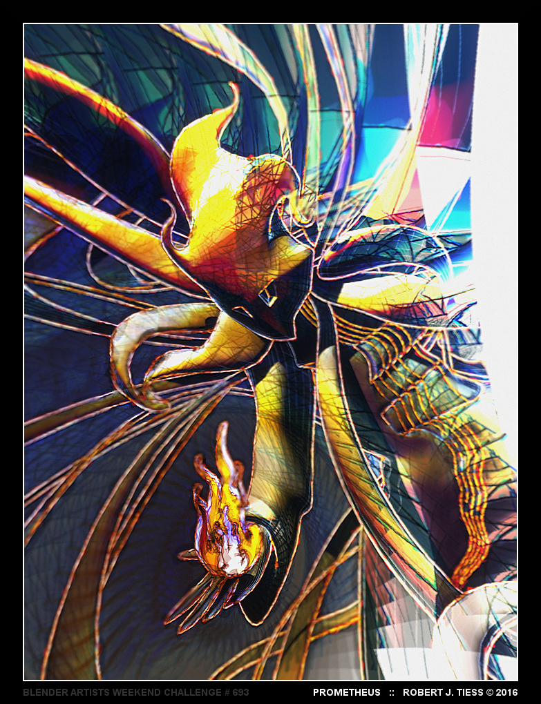 Prometheus - By Robert J. Tiess
