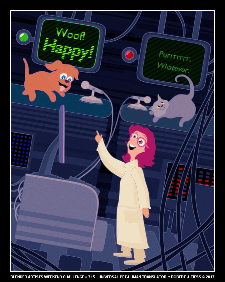 Universal Pet-Human Translator - By Robert J. Tiess