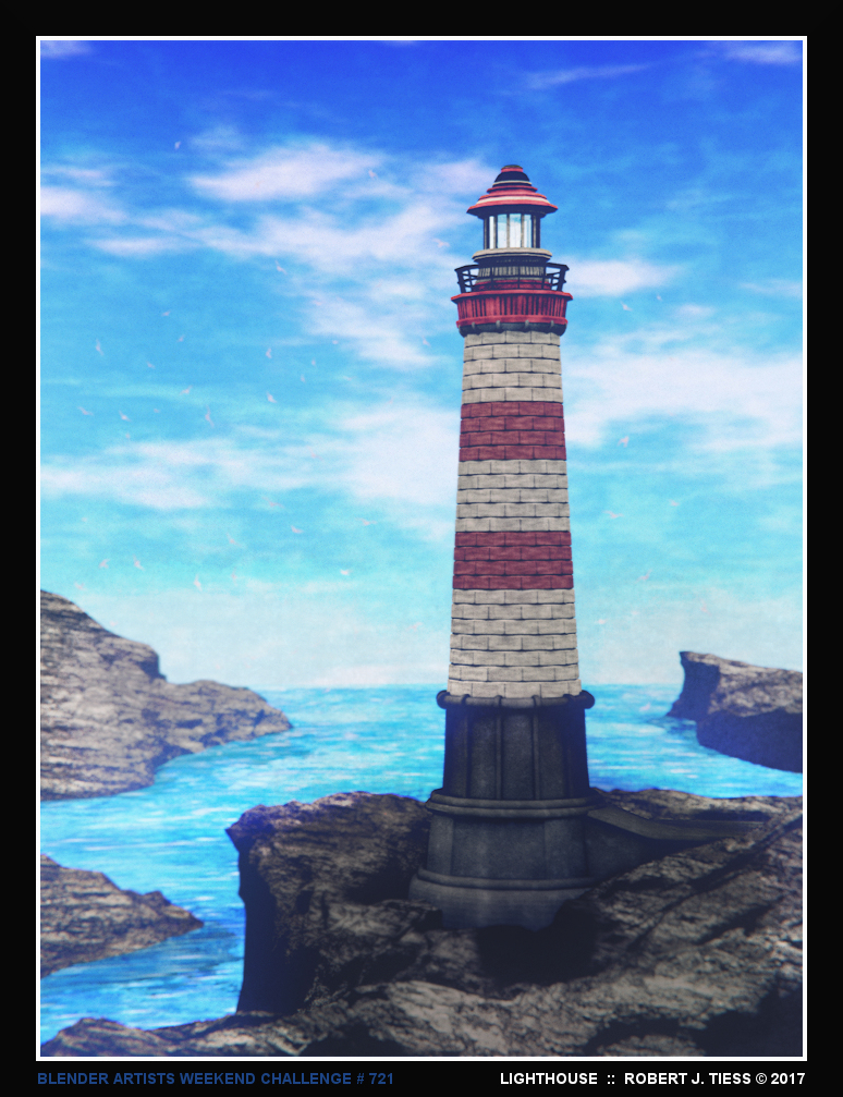 Lighthouse - By Robert J. Tiess