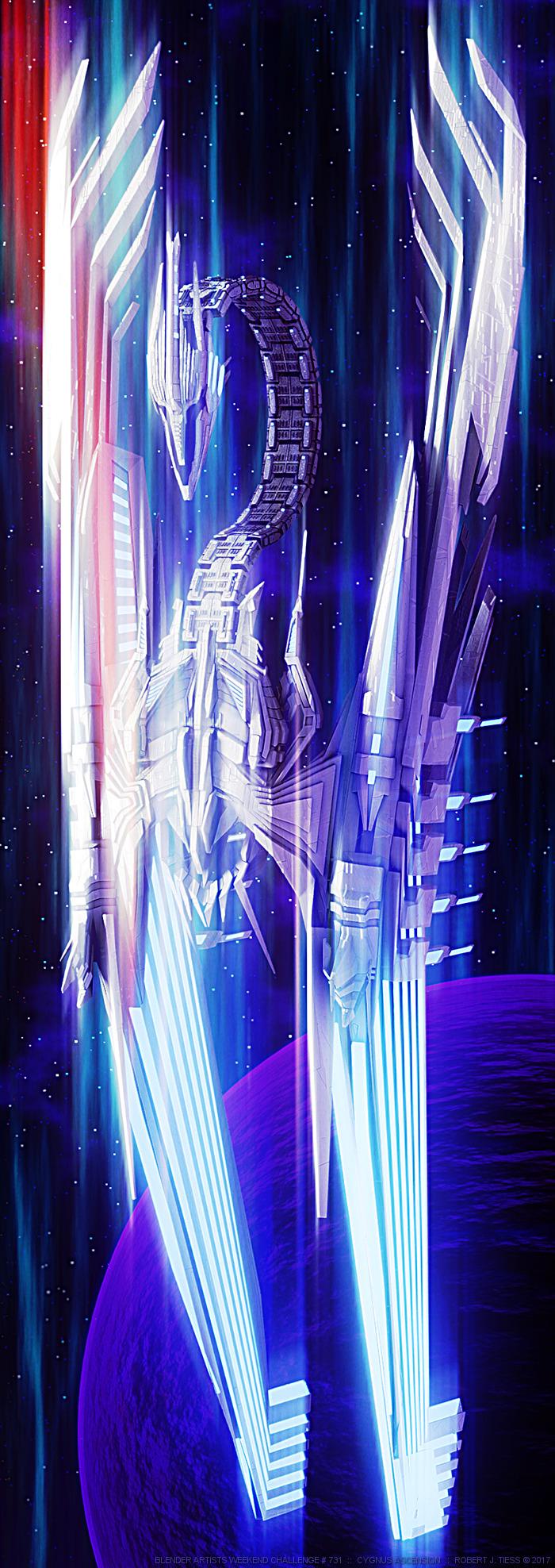 Cygnus Ascension - By Robert J. Tiess