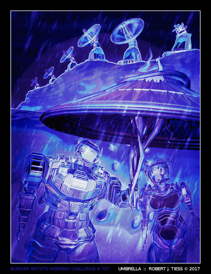 Umbrella - By Robert J. Tiess