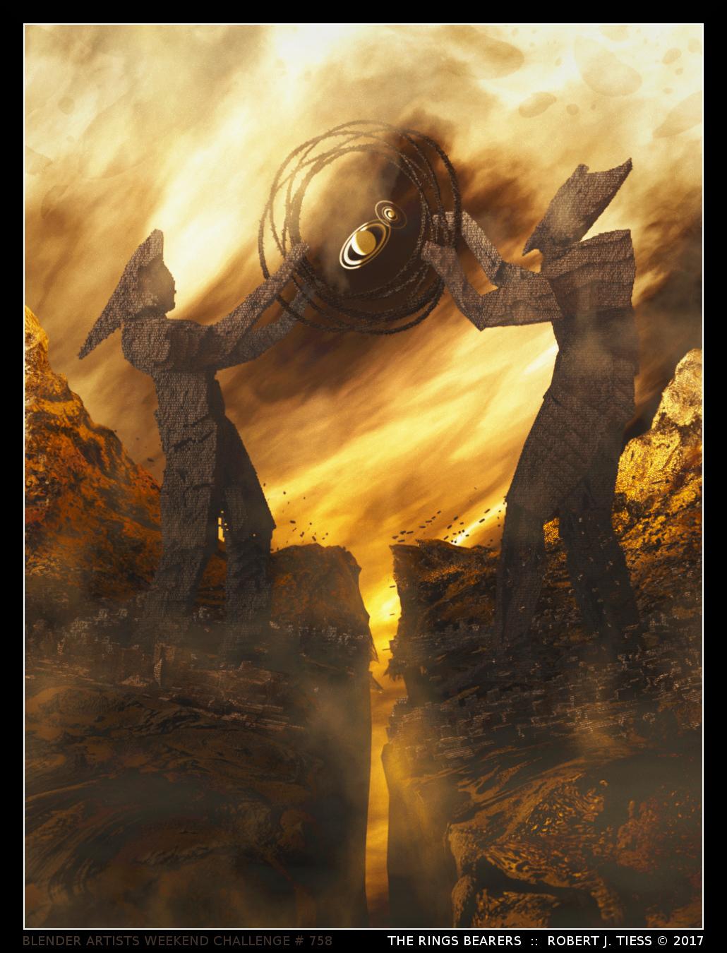 The Rings Bearers - By Robert J. Tiess