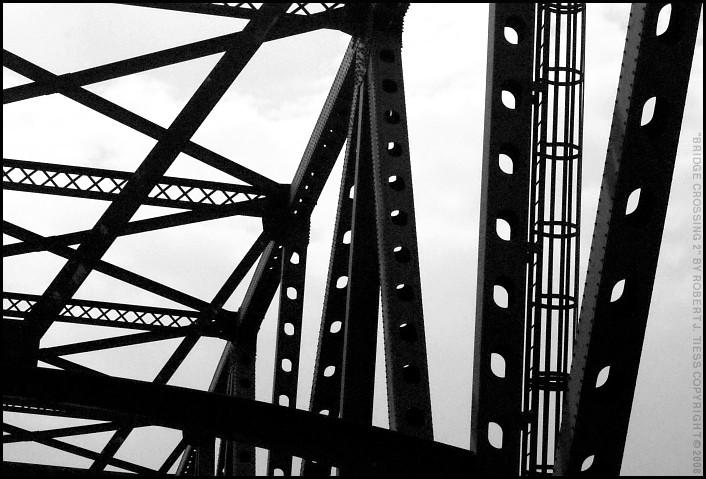 Bridge Crossing (2) - By Robert J. Tiess