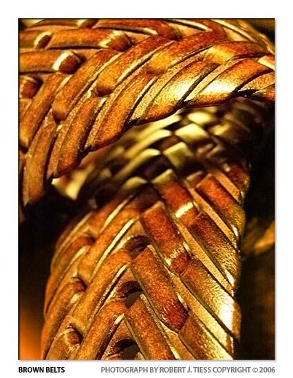Brown Belts - By Robert J. Tiess