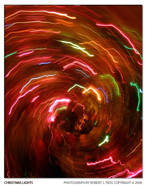 Christmas Lights - By Robert J. Tiess