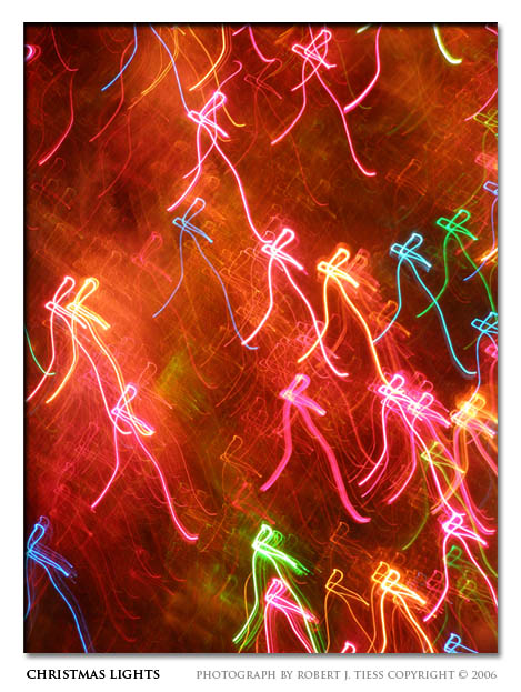 Christmas Lights - By Robert J. Tiess