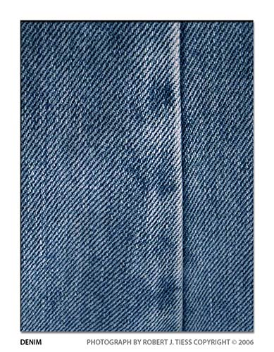 Denim - By Robert J. Tiess
