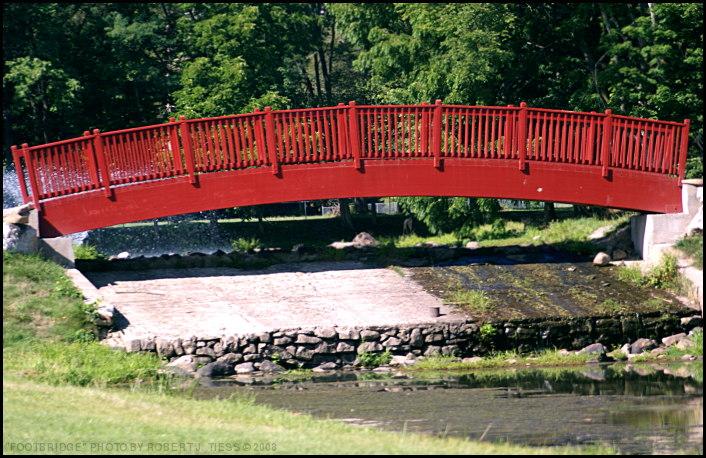 Footbridge - By Robert J. Tiess