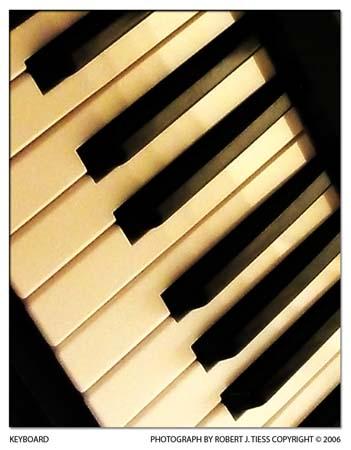 Keyboard - By Robert J. Tiess