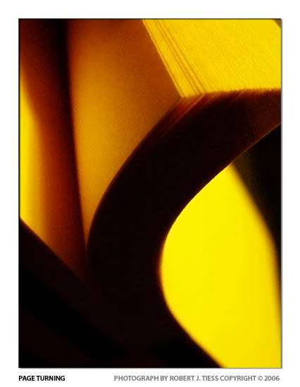 Pageturning - By Robert J. Tiess