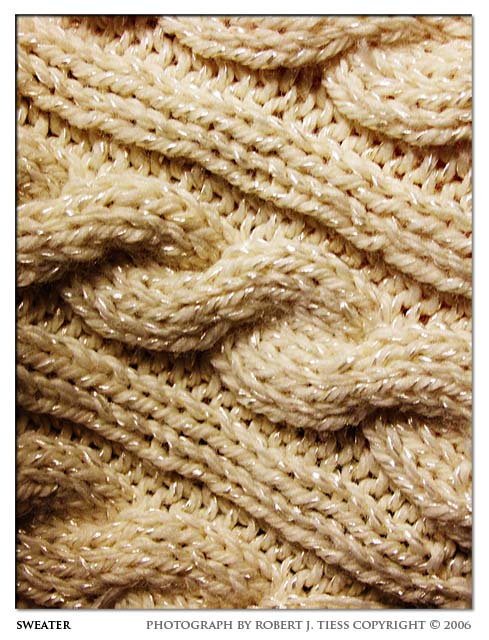 Sweater - By Robert J. Tiess