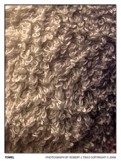 Towel - By Robert J. Tiess
