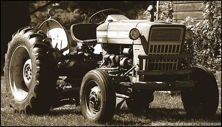 Tractor - By Robert J. Tiess