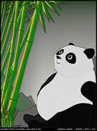 Bamboo, Panda